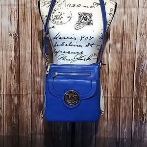 Michael Kors royal blue bag